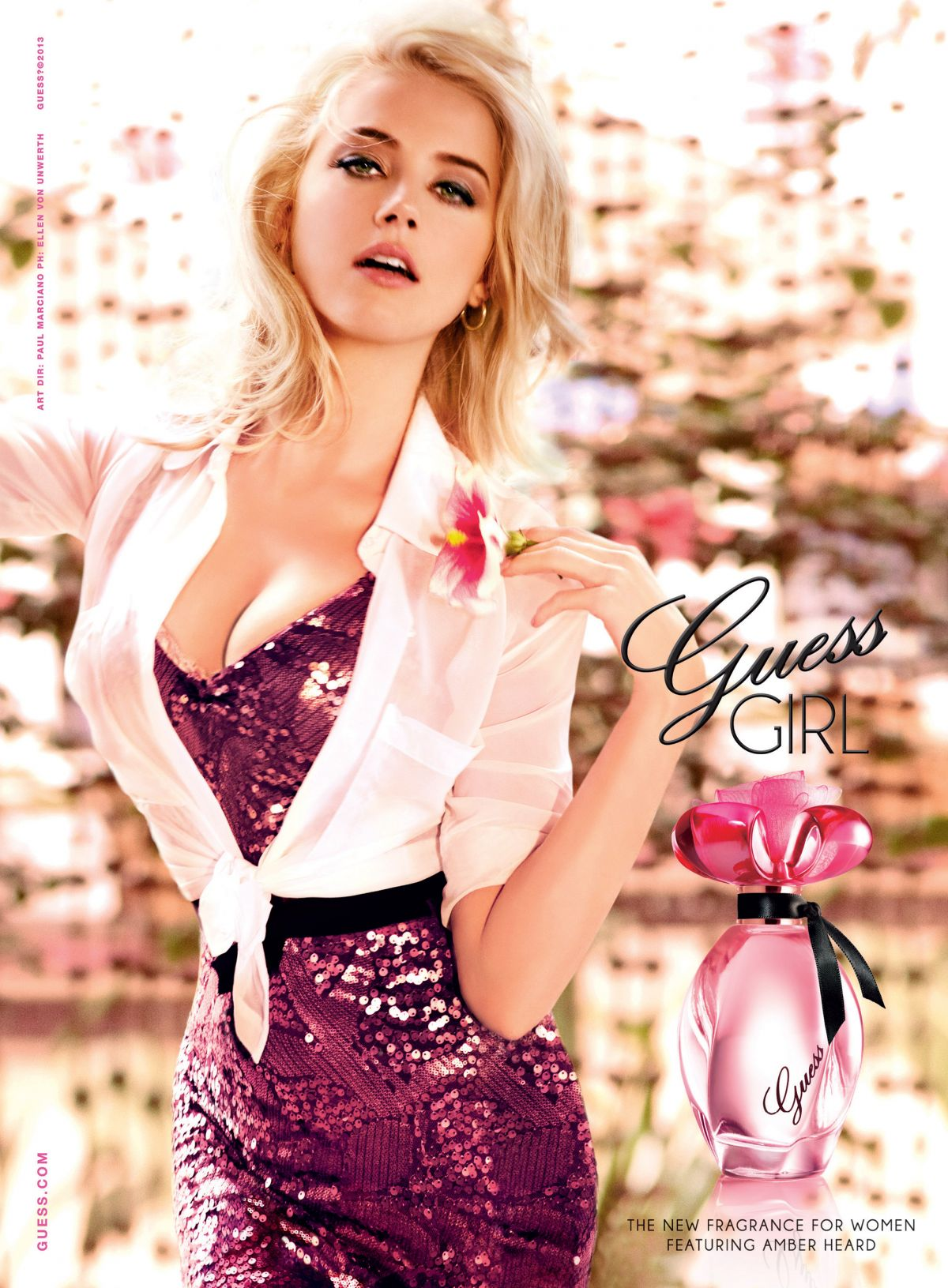 AMBER HEARD - Guess Girl Campaing