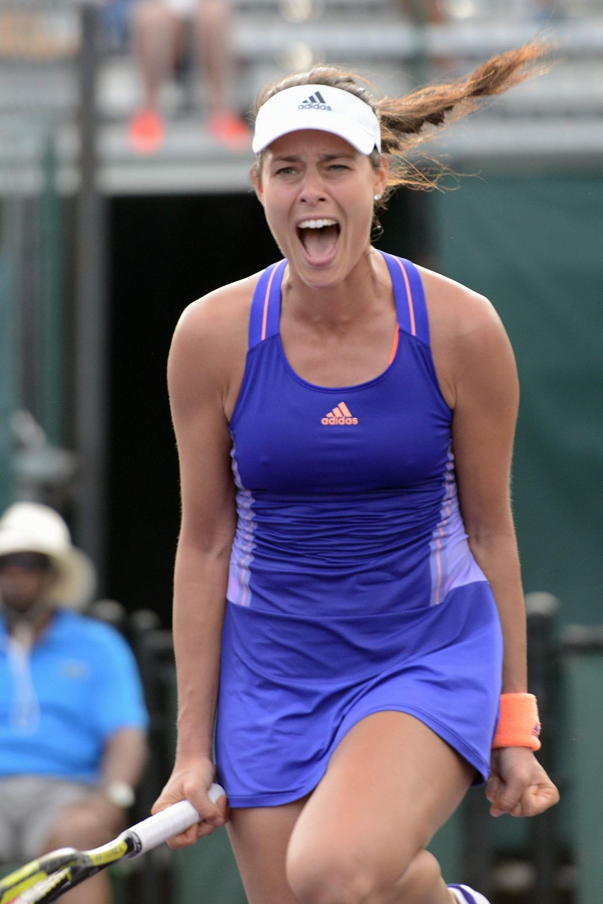 ANA IVANOVIC at Miami Open Tennis Tournament in Key ...