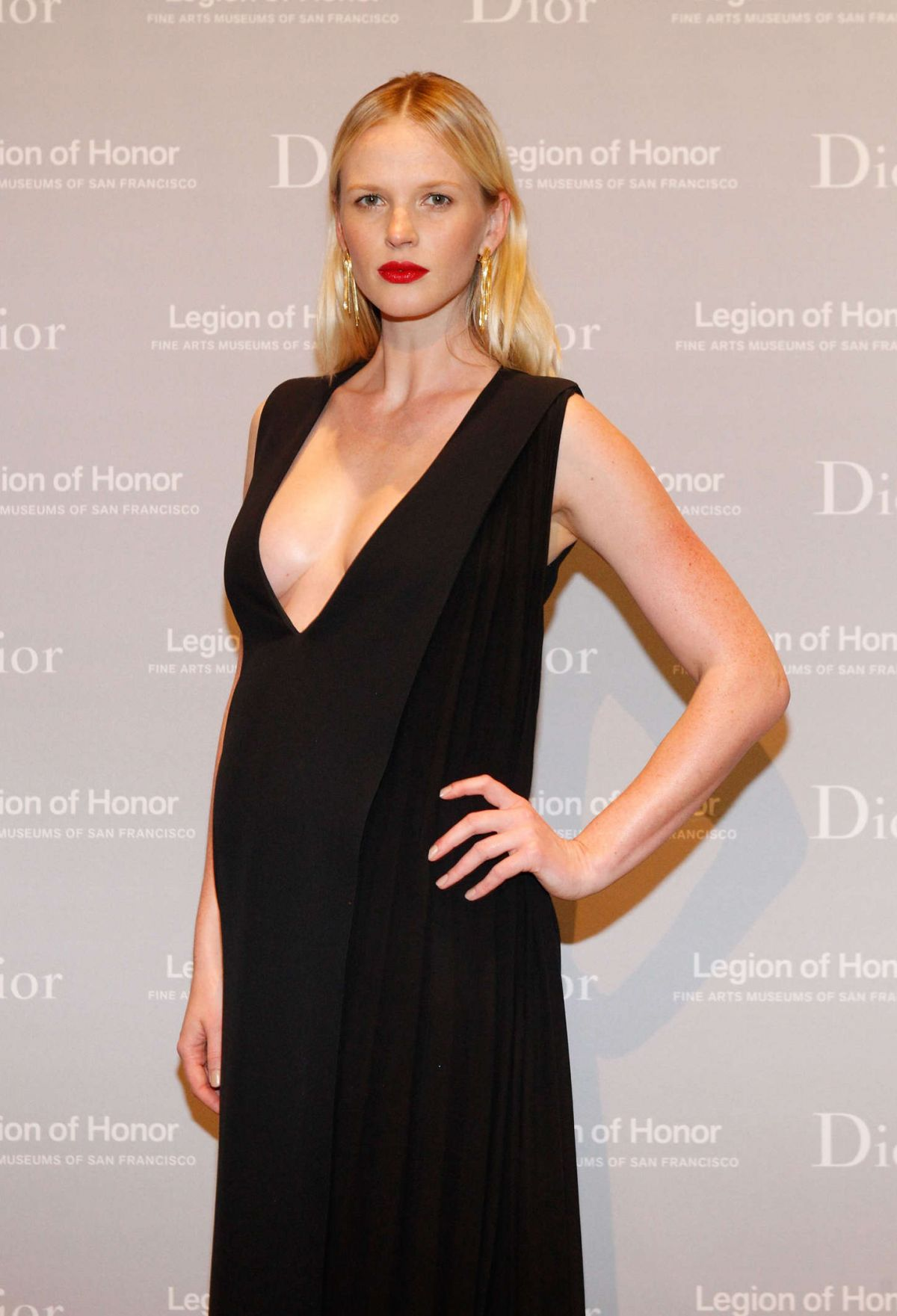 ANNE VYALITSYNA at 2015 Mid-winter Gala Presented by Dior in San Francisco