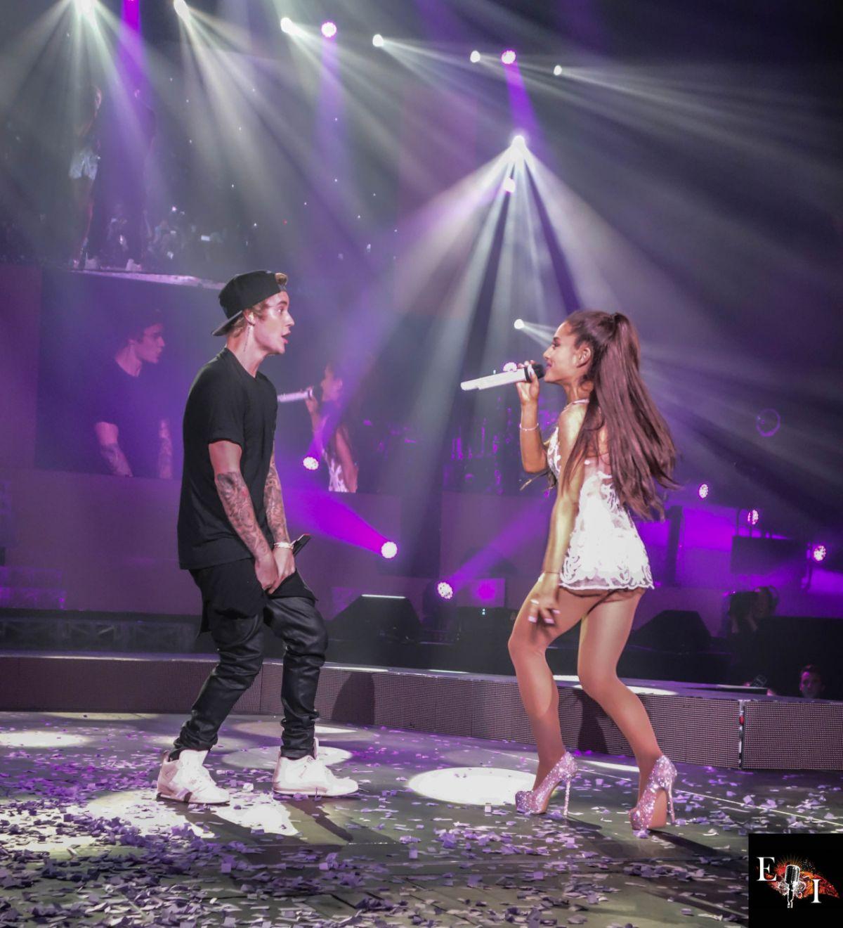 Justin Bieber Ariana Grande Tour Ariana Grande And Justin