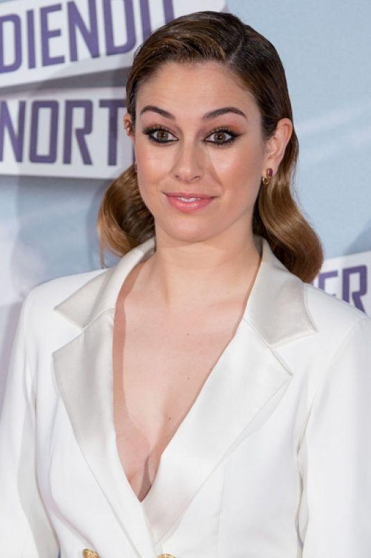 BLANCA SUAREZ at Perdiendo El Norte Premiere in Madrid