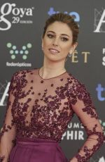BLANCA SUAREZ at Premios Goya XXIX Edition in Madrid
