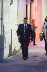BRIDGIT MENDLER Arrives at Jimmy Kimmel Live! in Hollywood