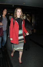 BRIDGIT MENDLER Leaves Rockefeller Center in New York