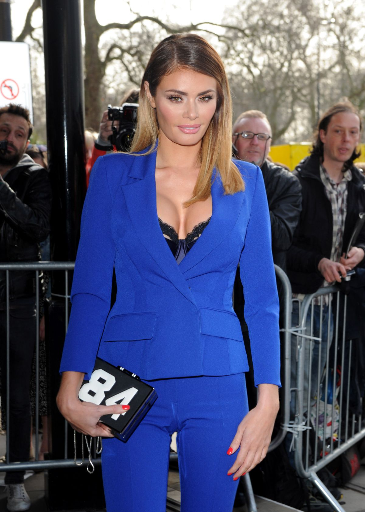 CHLOE SIMS at TRIC Awards 2015 in London