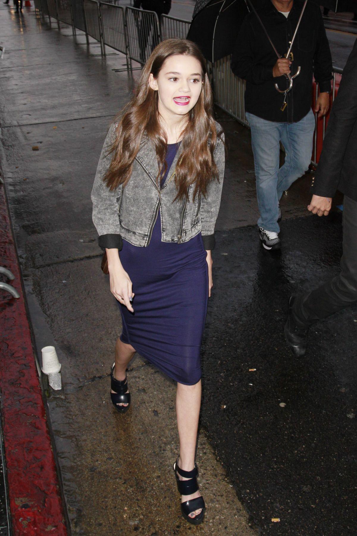 CIARA BRAVO at Cinderella Premiere in Hollywood