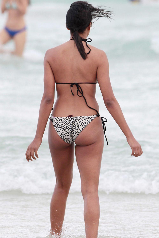 Claudia Jordan Bikini Beach Miami Demi Lovato Kenya