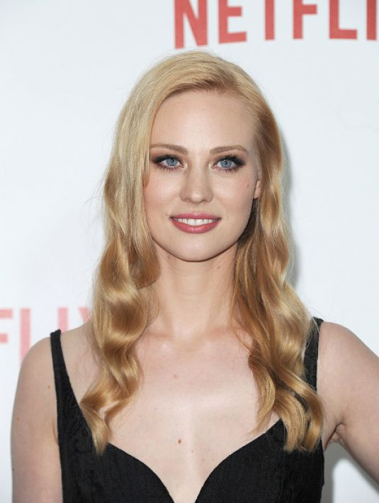 DEBORAH ANN WOLL at Netflix Australia and New Zealand Launch Party in Sydney