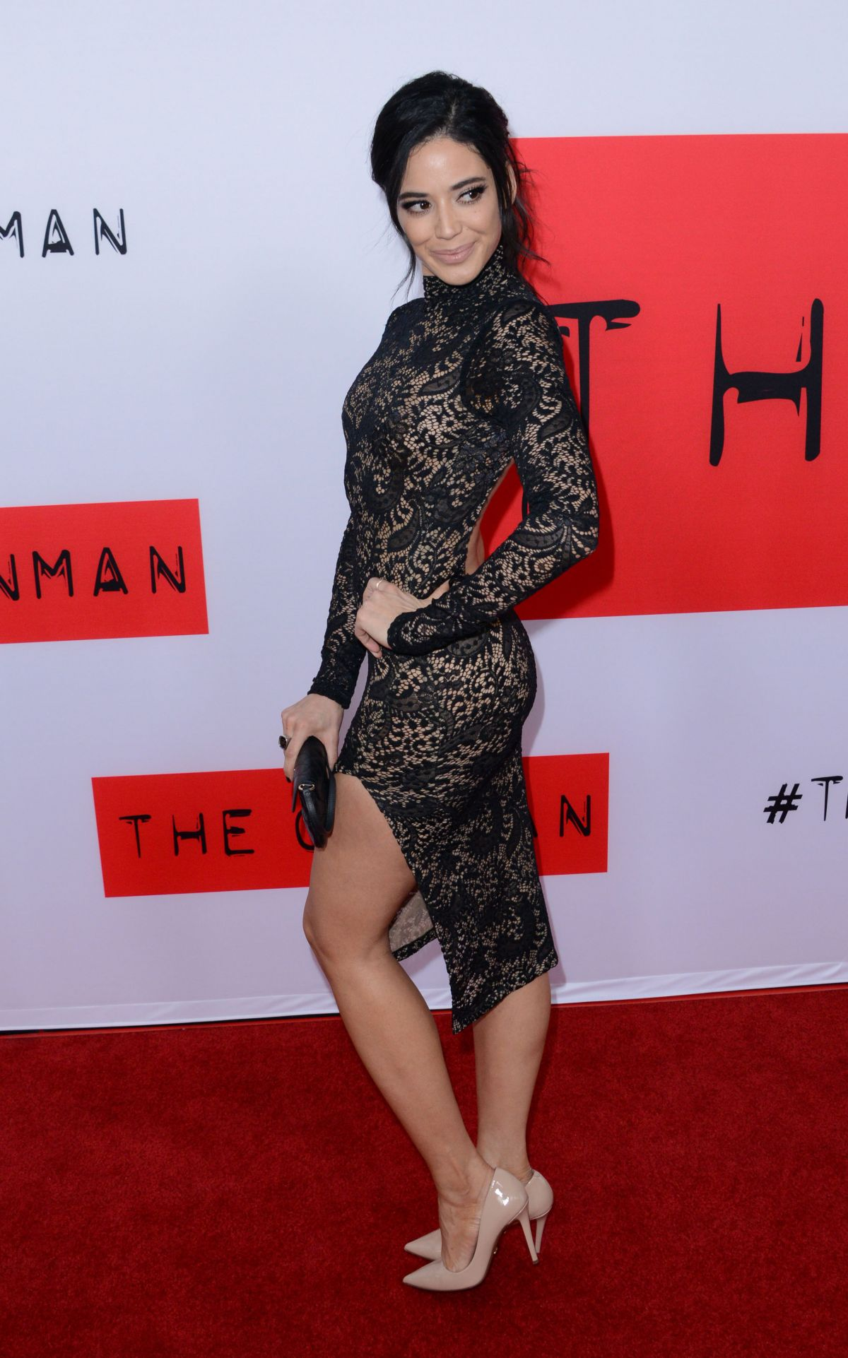 EDY GANEM at The Gunman Premiere in Los Angeles