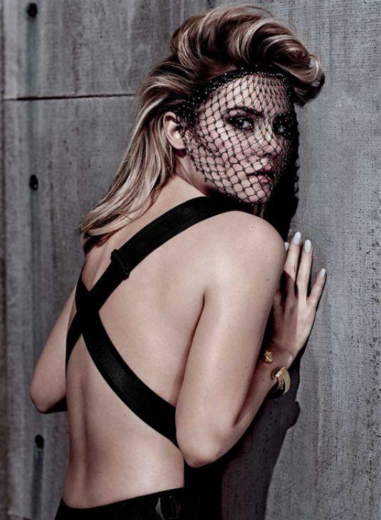 ELISHA CUTHBERT In Fashion Magazine April 2015 Issue HawtCelebs