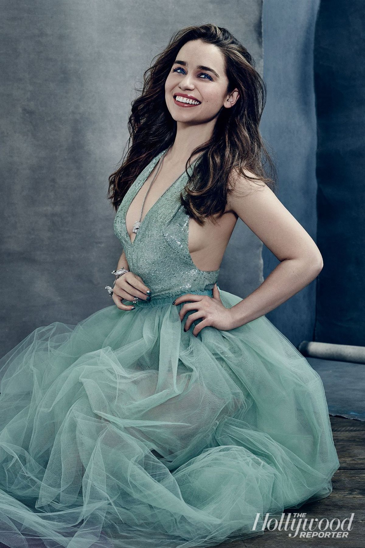 EMILIA CLARKE in The Hollywood Reporter, April 2015 Issue