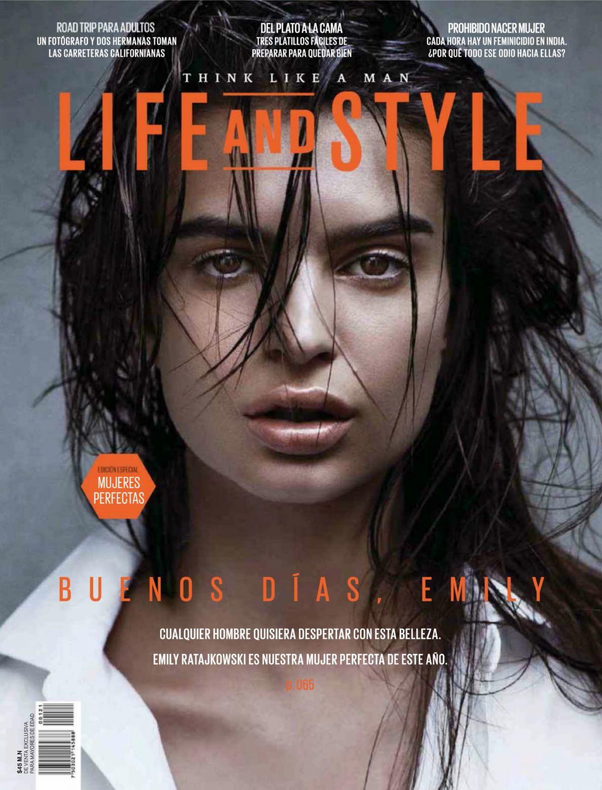 EMILY RATAJKOWSKI In Life And Style Magazine, Mexico March