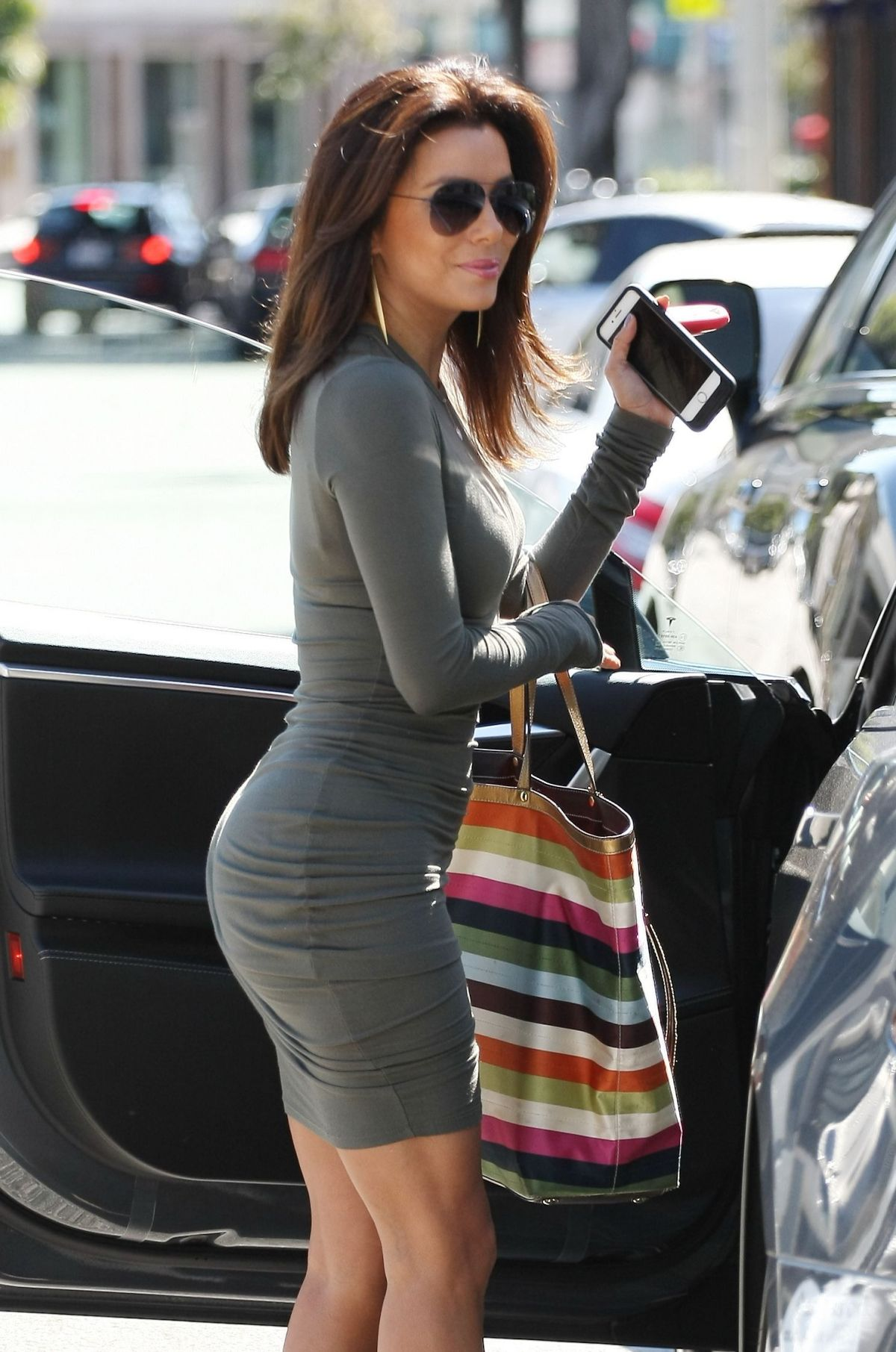 longoria tight dress Eva