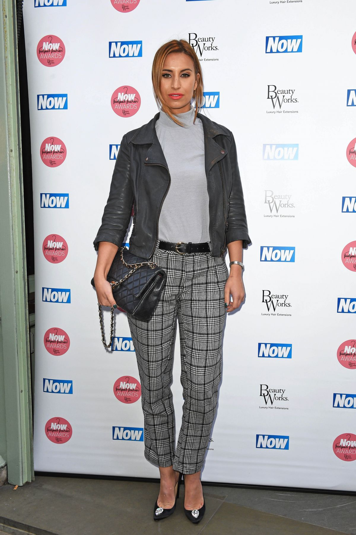 Fashion In London Today: FERNE MCCANN At Now Magazine's Feel Good Fashion Awards In