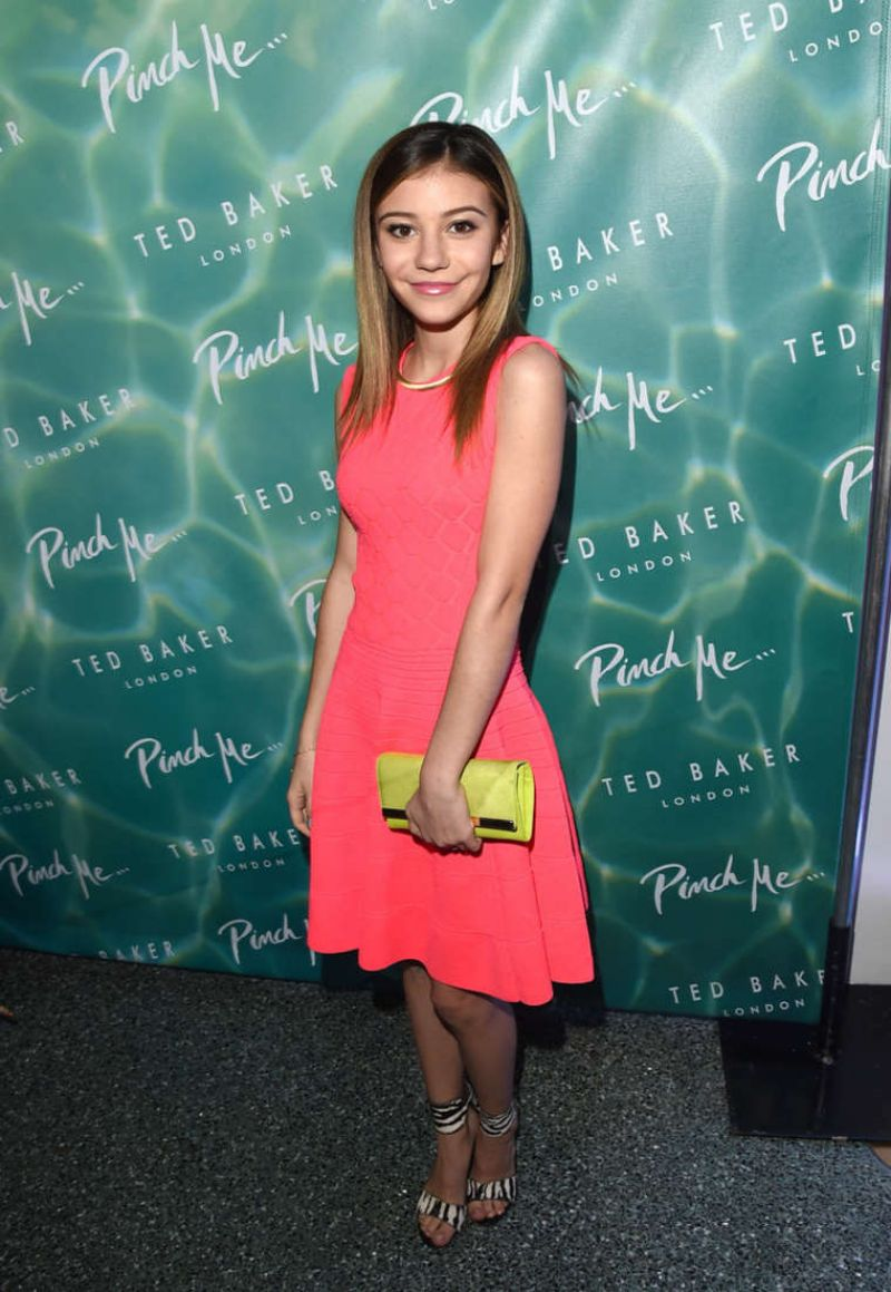 GENEVIEVE HANNELIUS at Ted Baker London