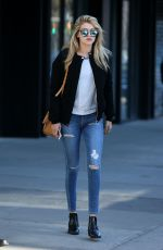 GIGI HADID in Ripped Jeans Out and About in New York 2403