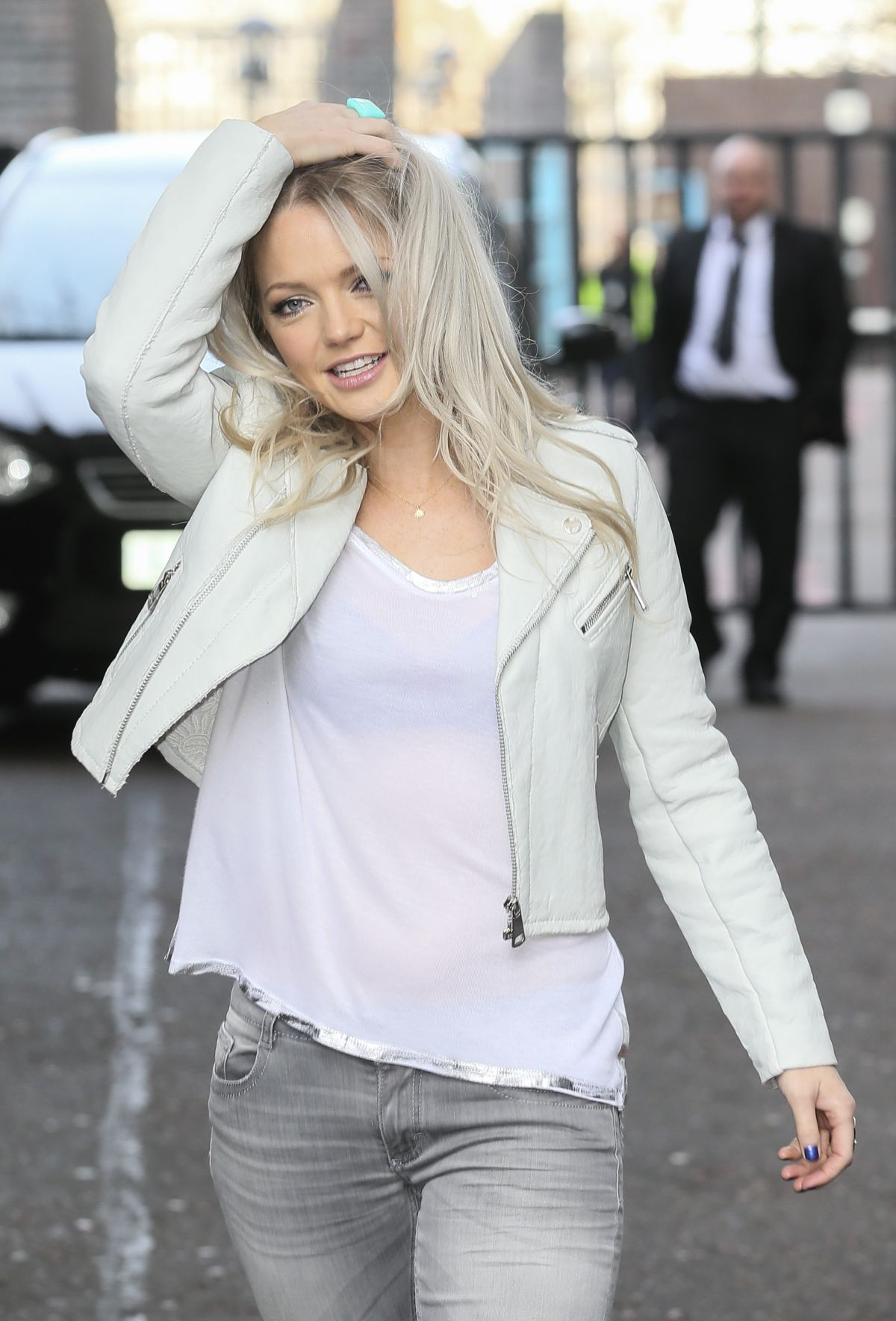 HANNAH SPEATTITT Leaves ITV Studios in London