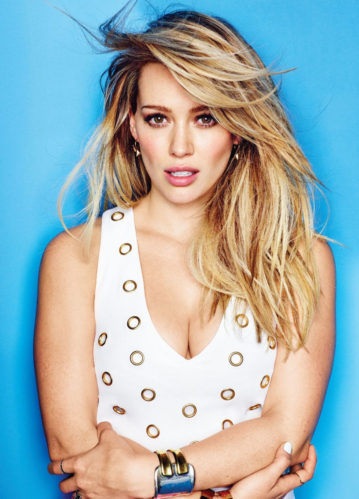 HILARY DUFF in Cosmopolitan Magazine, April 2015 Issue - HawtCelebs ...