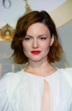 HOLLIDAY GRAINGER at Cinderella Premiere in London