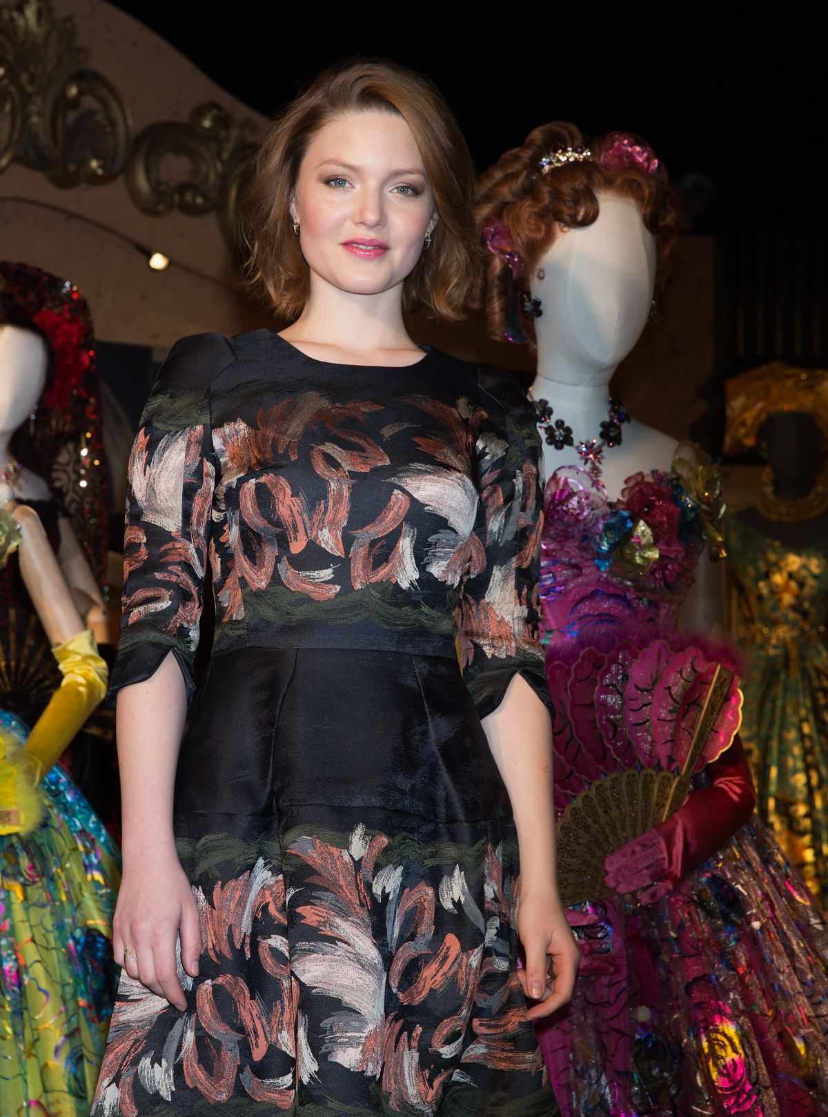 HOLLIDAY GRAINGER at Cnderella Exhibition Photocall at Leicester Square in London