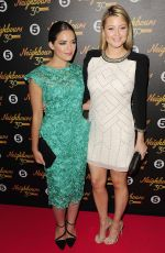 HOLLY and OLYMPIA VALANCE at Neighbours 30th Anniversary Party in London