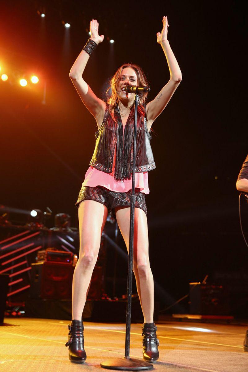JANA KRAMER Performs at 2015 Nash Bash in Brooklyn