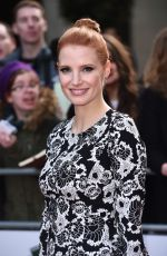 JESSICA CHASTAIN at Jameson Empire Awards 2015 in London