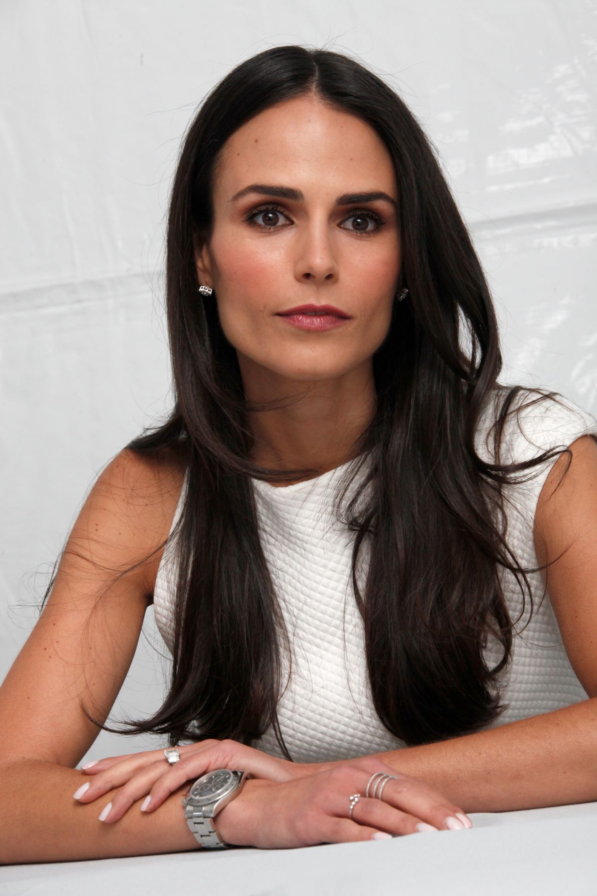 JORDANA BREWSTER at Fast and Furious Photocall in los Angeles
