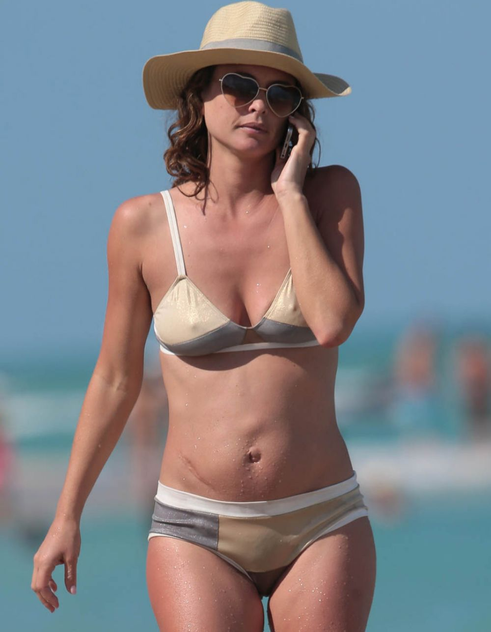 JOSIE MARAN in Bikini on the Beach in Miami