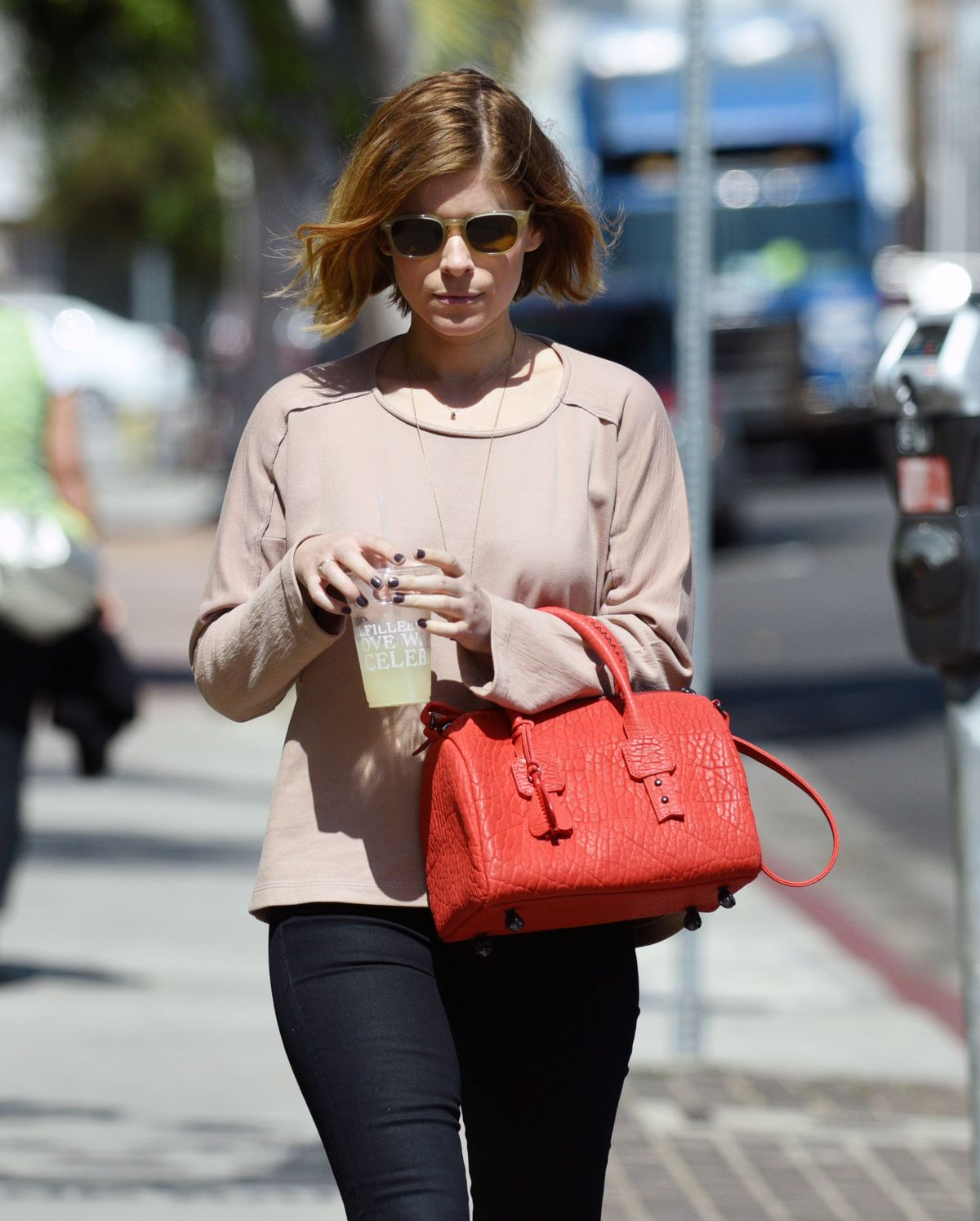 KATE MARA Out and About in Los Angeles 1903