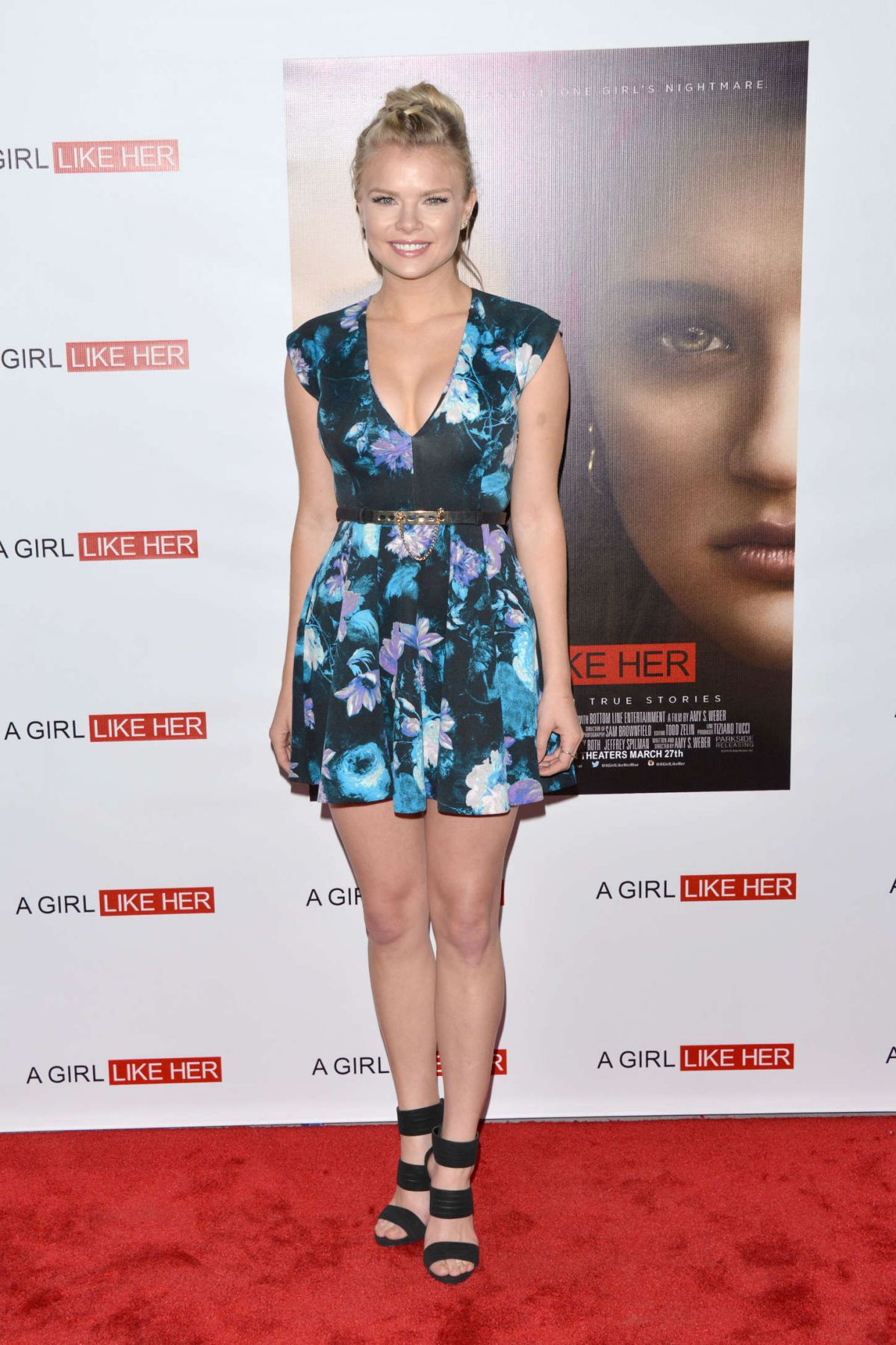 KELLI GOSS at A Girl Like Her Premiere in Hollywood