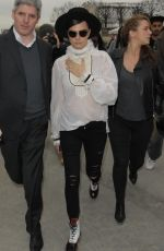 KENDALL JENNER and CARA DELEVINGNE at Chanel Fashion Show in Paris