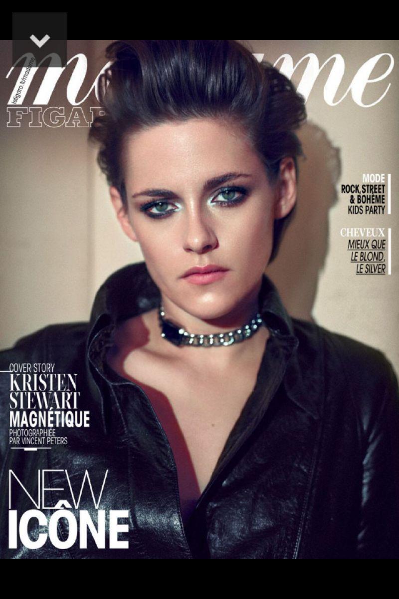 KRISTEN STEWART in Madame Figaro, April 2015 Issue