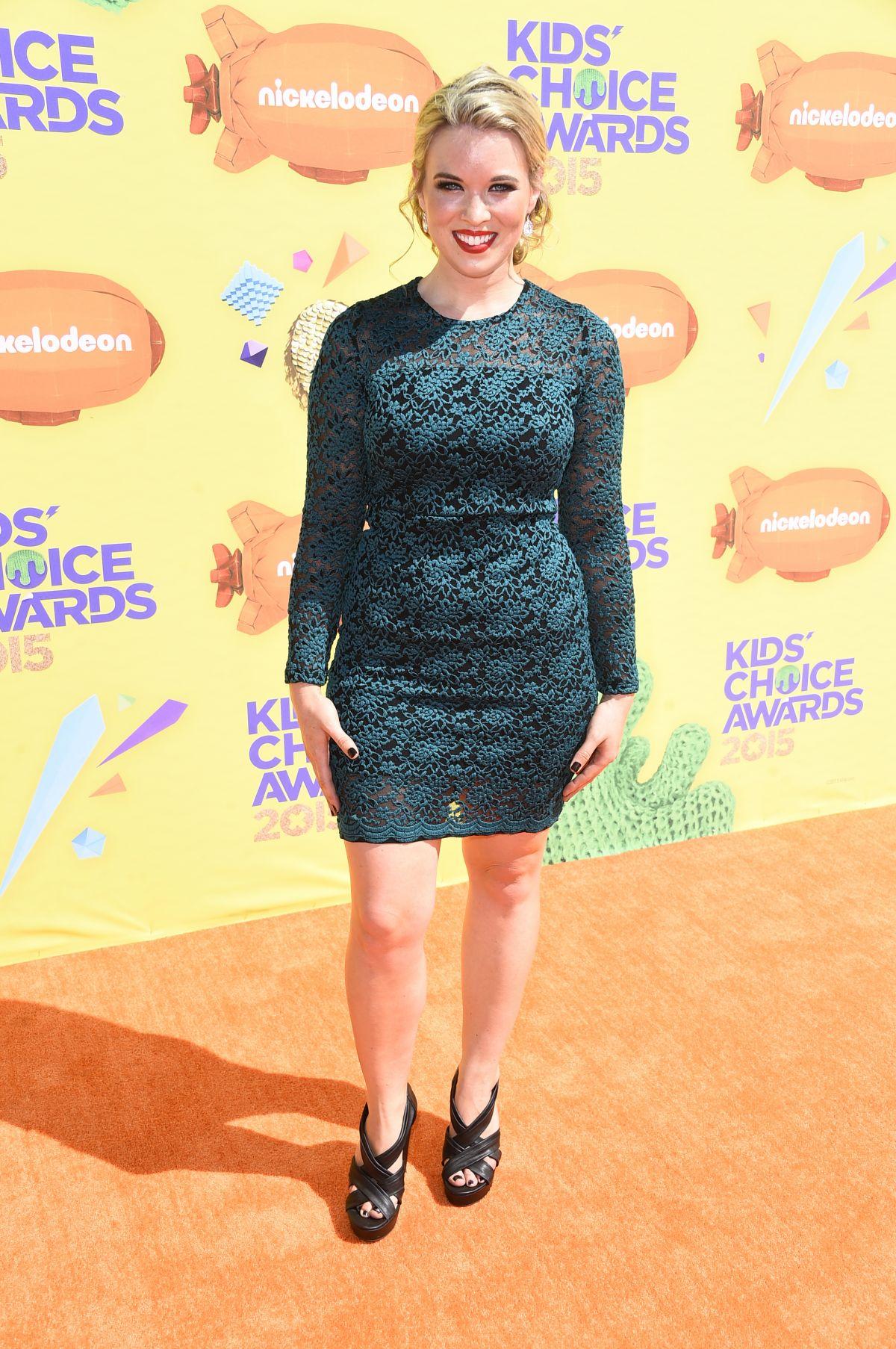 KRISTIN COLEMAN at 2015 Nickelodeon Kids Choice Awards in Inglewood