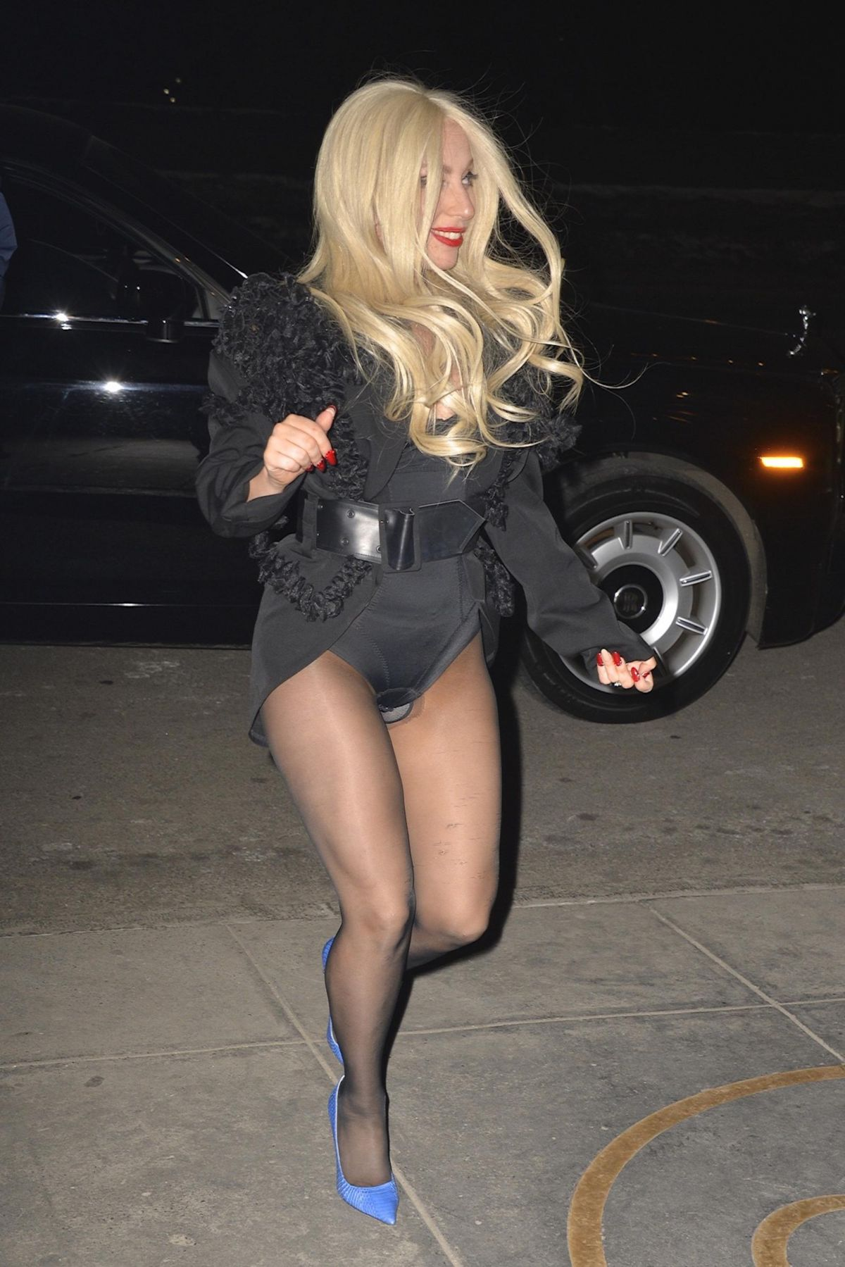 LADY GAGA Night Out in New York 2702