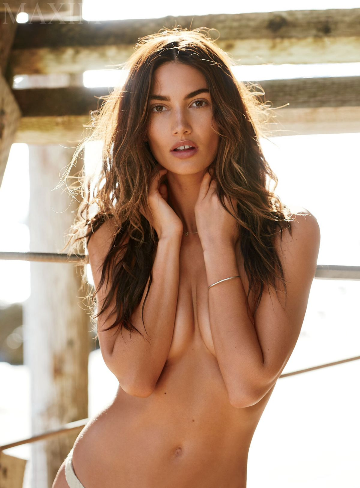 Lily Aldridge In Maxim Magazine April 2015 Issue Hawtcelebs