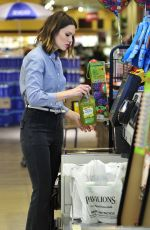 MANDY MOORE Out Shopping in Los Angeles 2303