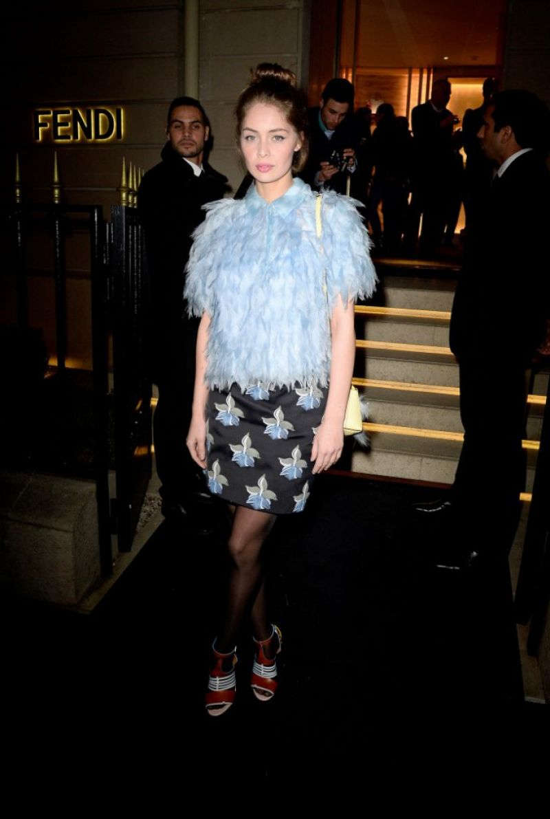 5858c621be25 MARIE-ANGE CASTA at The Shades of Dolce Vita  Cocktail Party by Fendi