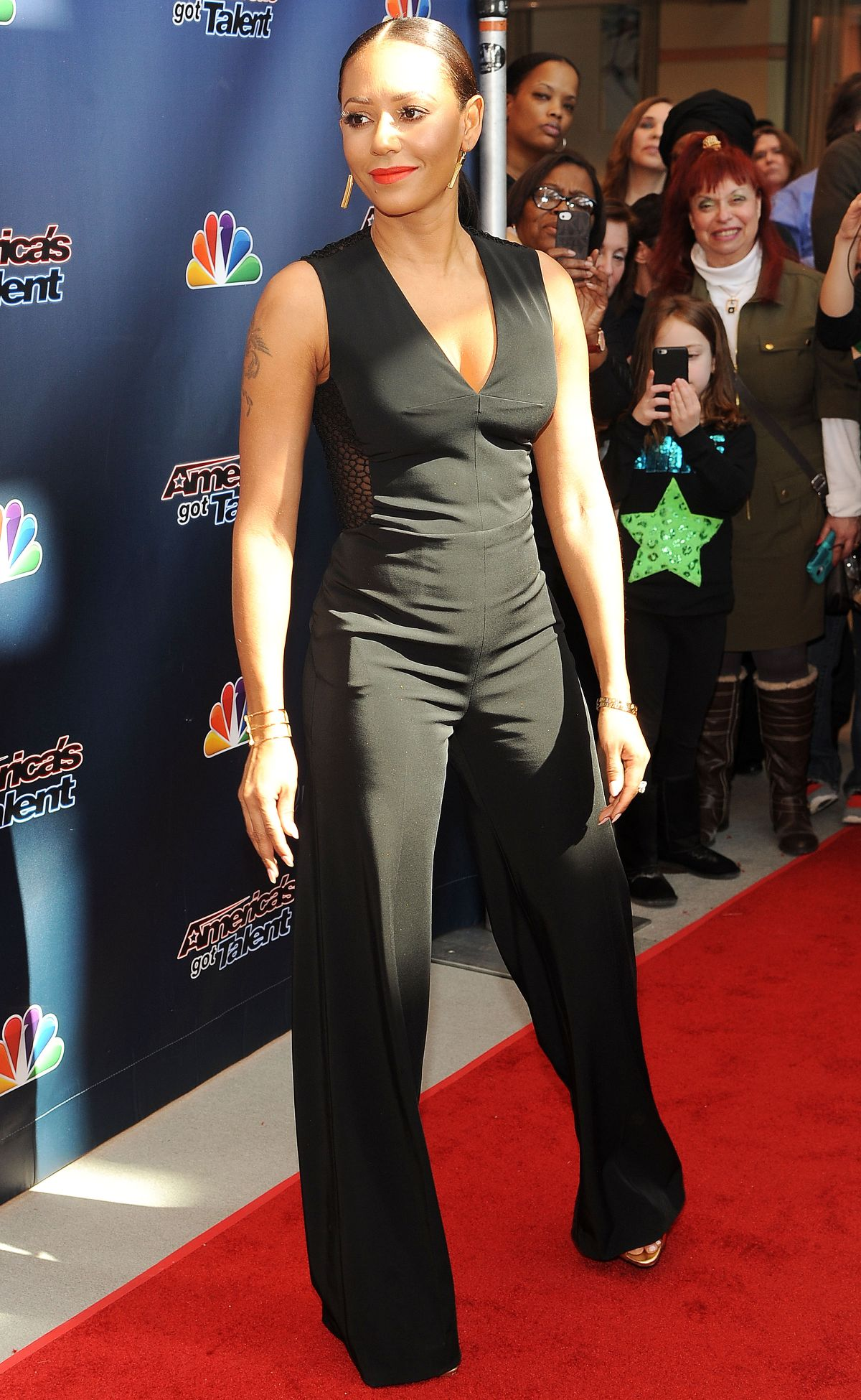 MELANIE BROWN at America's Got Talent Season 10 auditions in New