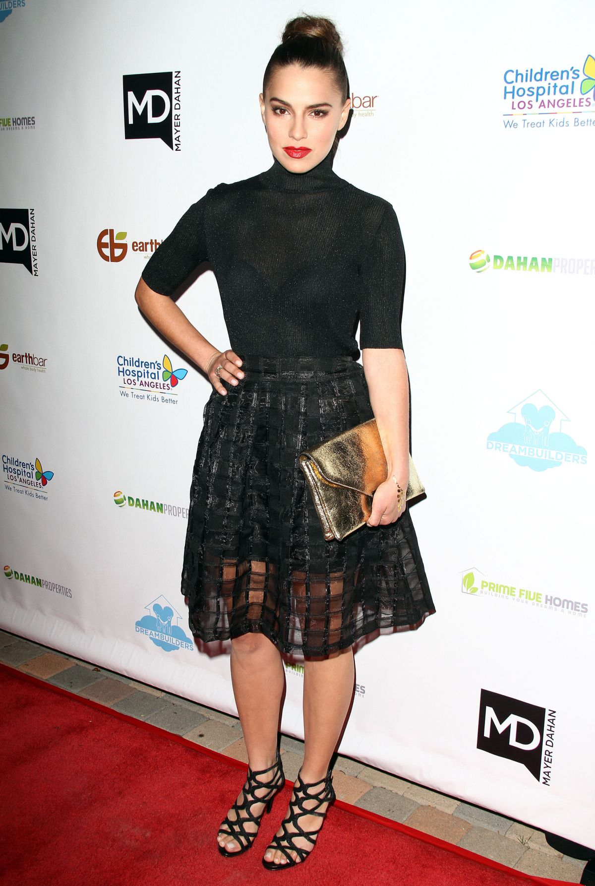 MELIA KREILING at Dream Builders Project A Brighter Future for Children Gala