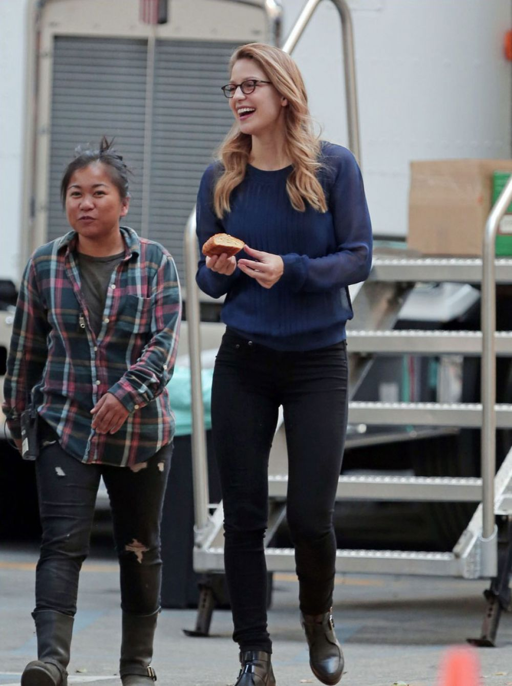 Benoist jeans melissa Supergirl's Melissa