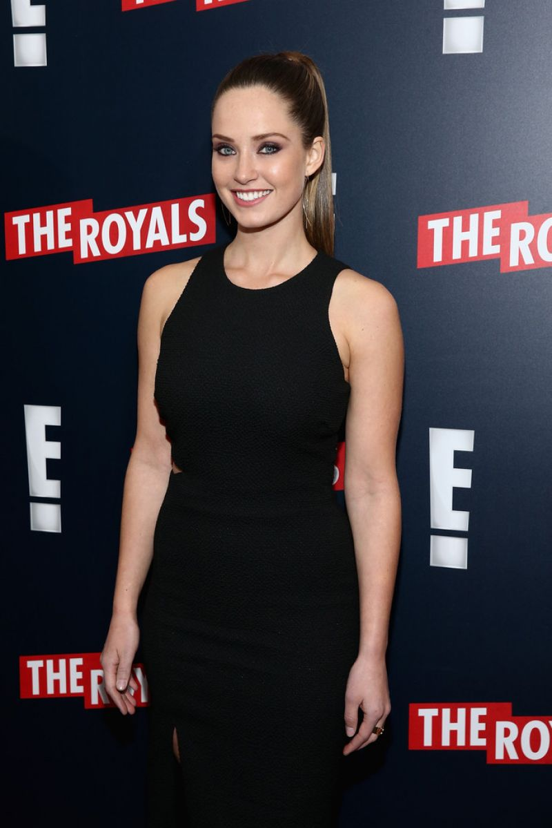 MERRITT PATTERSON at The Royals Premiere in New York