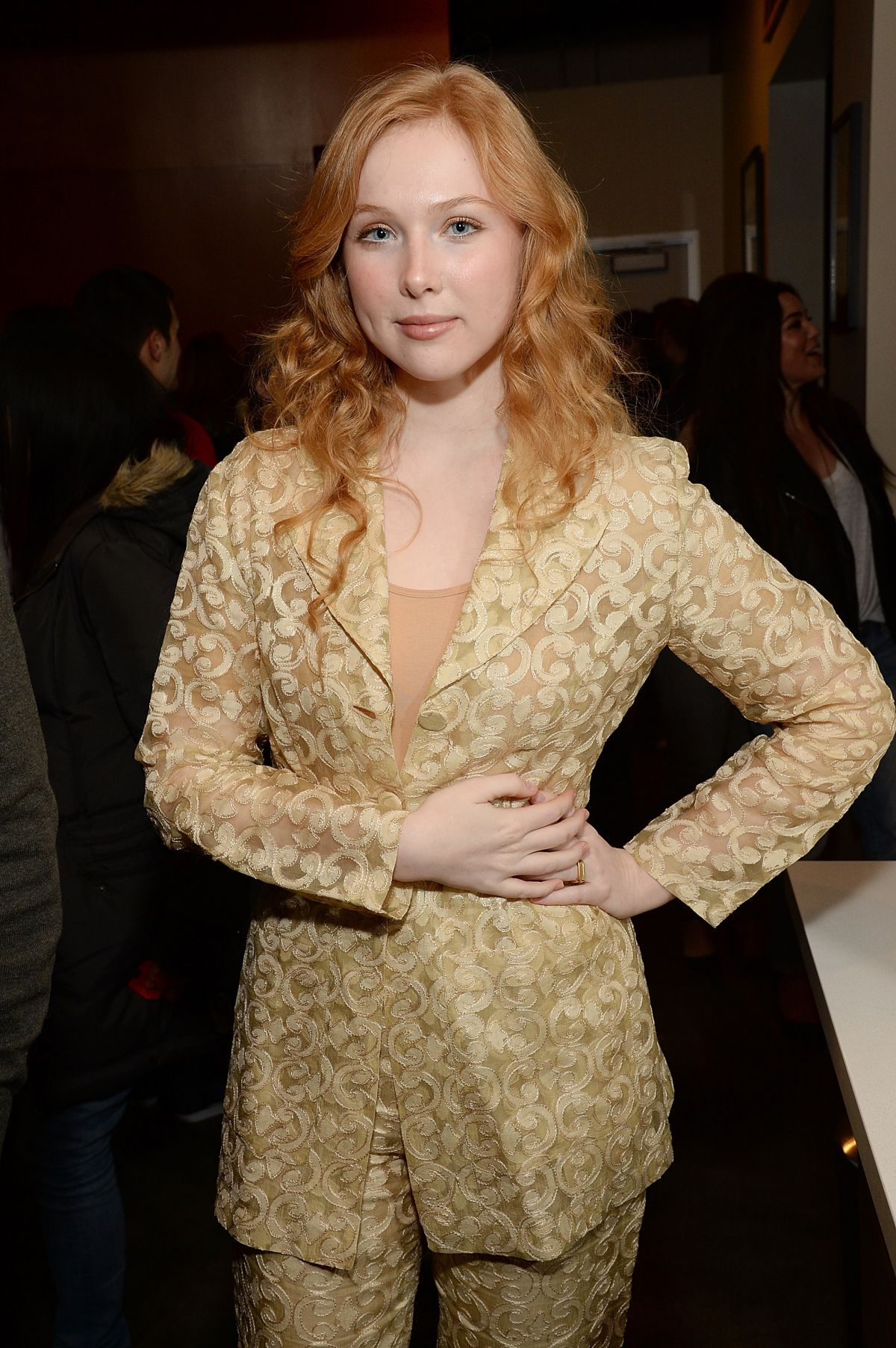 MOLLY QUINN at Nerdist + Xbox Live App Launch Party in Venice