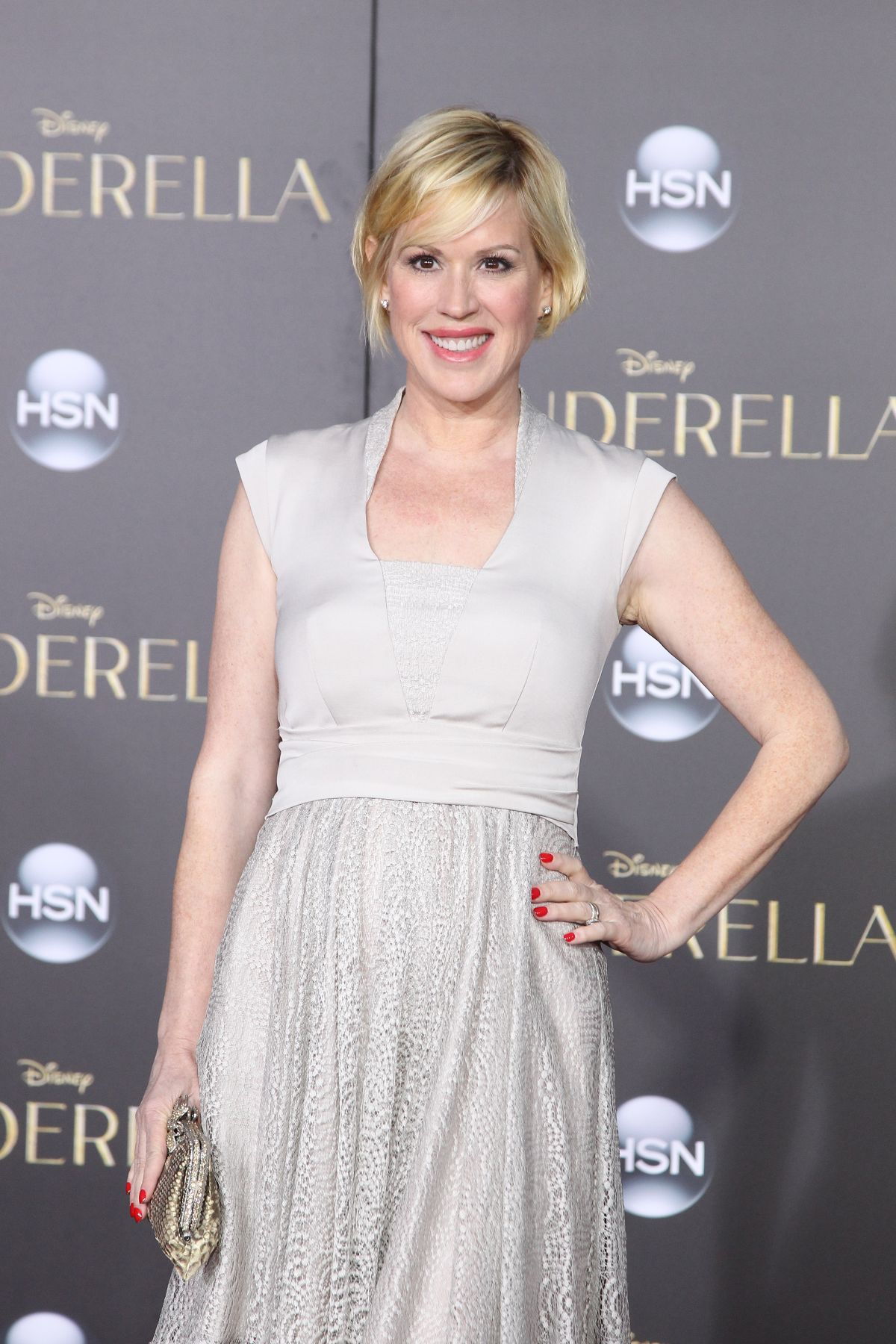 MOLLY RINGWALD at Cinderella Premiere in Hollywood