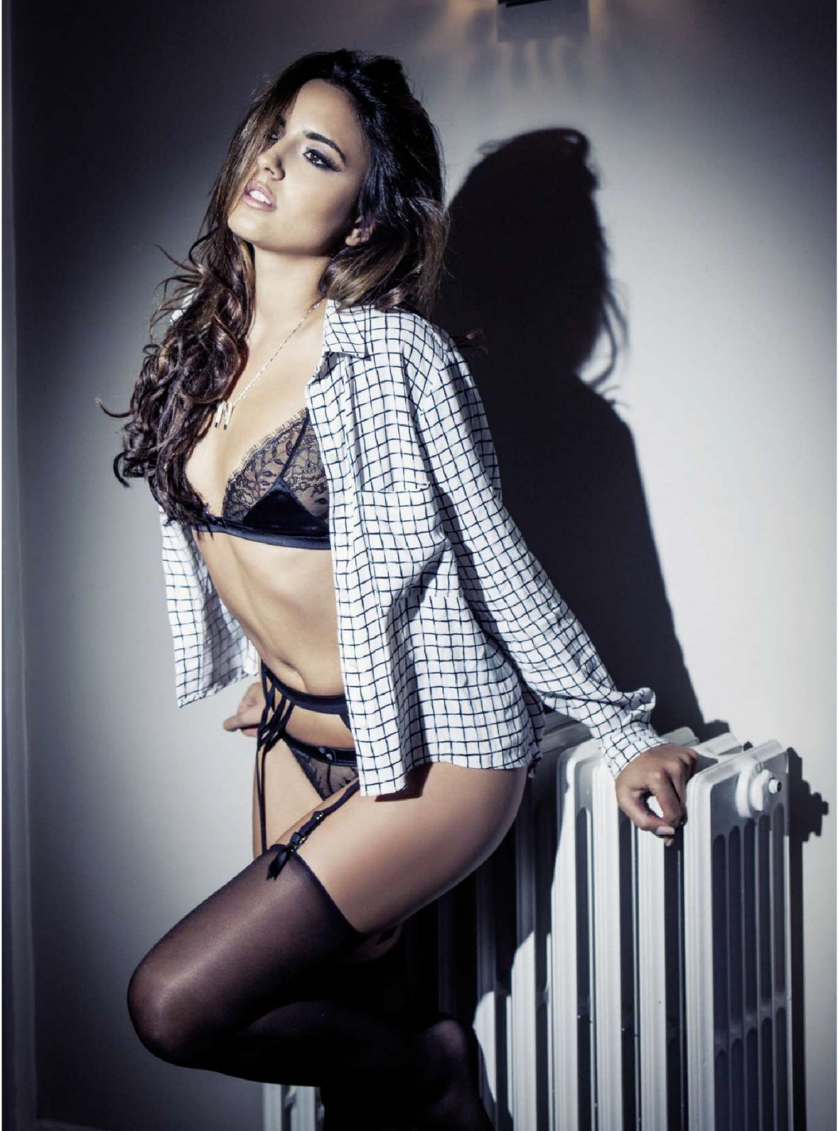 Nadia Forde In Fhm Magazine April 2015 Issue Hawtcelebs