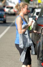 NAOMI WATTS in Leggings Out in Brentwood 2503