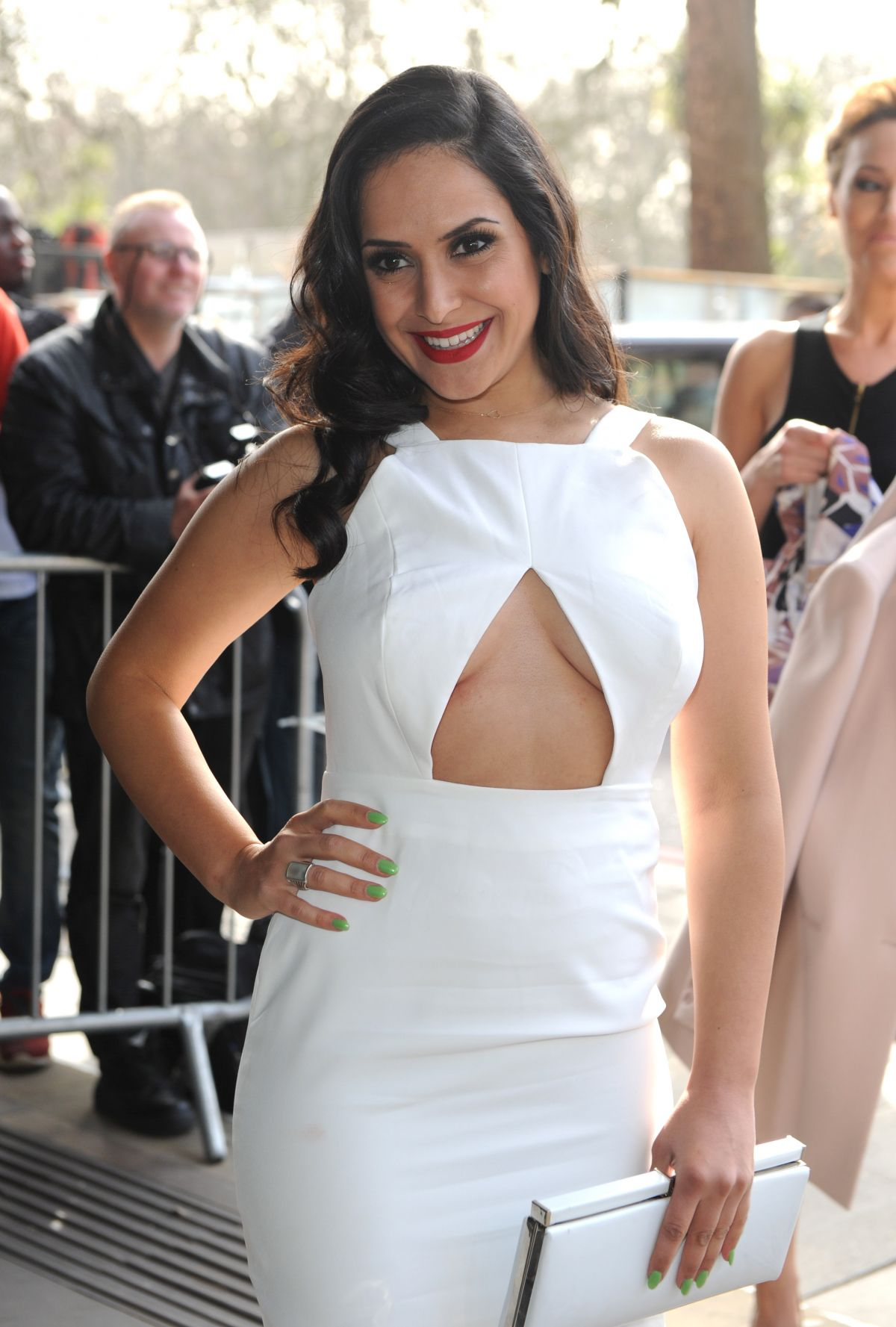 NAZANEEN GHAFFAR at TRIC Awards 2015 in London