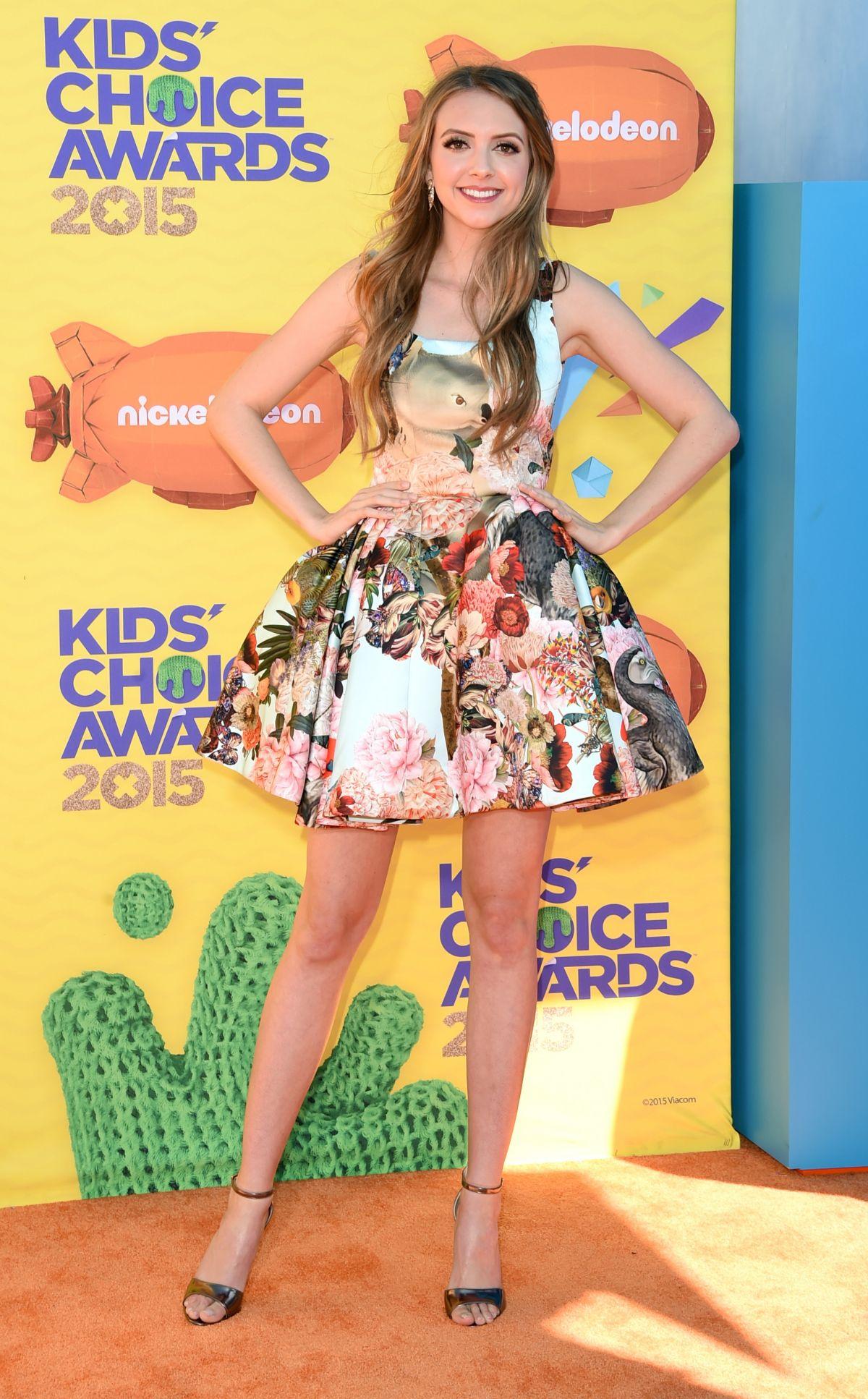 OLIVIA SOMERLYN at 2015 Nickelodeon Kids Choice Awards in Inglewood