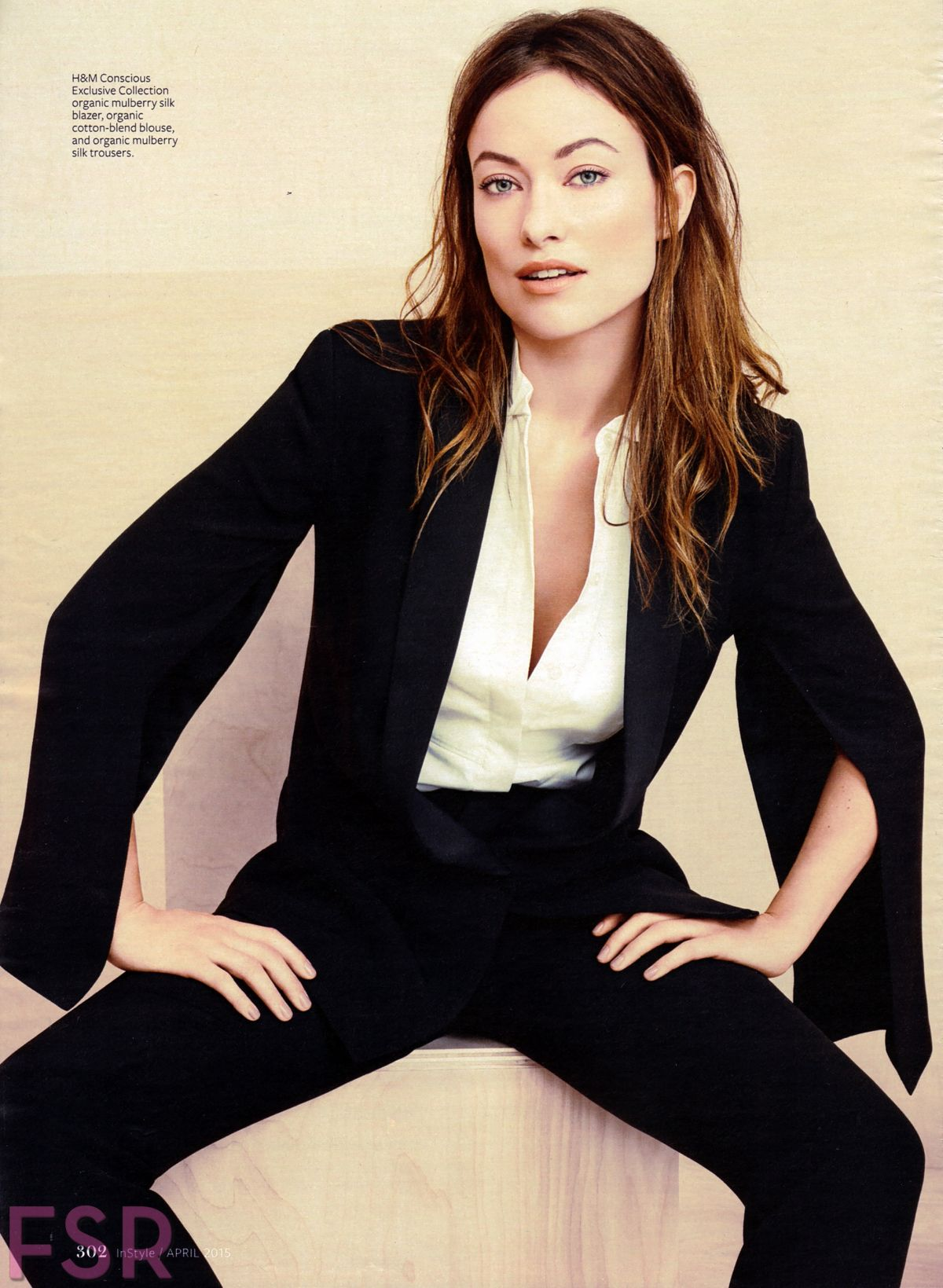 OLIVIA WILDE in Instyle Magazine, April 2015 Issue - HawtCelebs ... Olivia Wilde