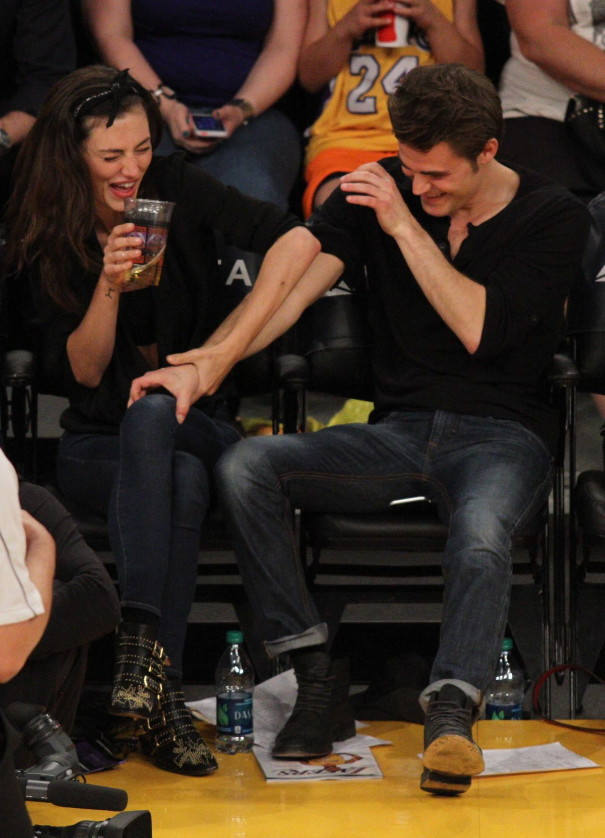 Paul Wesley and Phoebe Tonkin split up after four years of ... |Thomas Mcdonell And Phoebe Tonkin